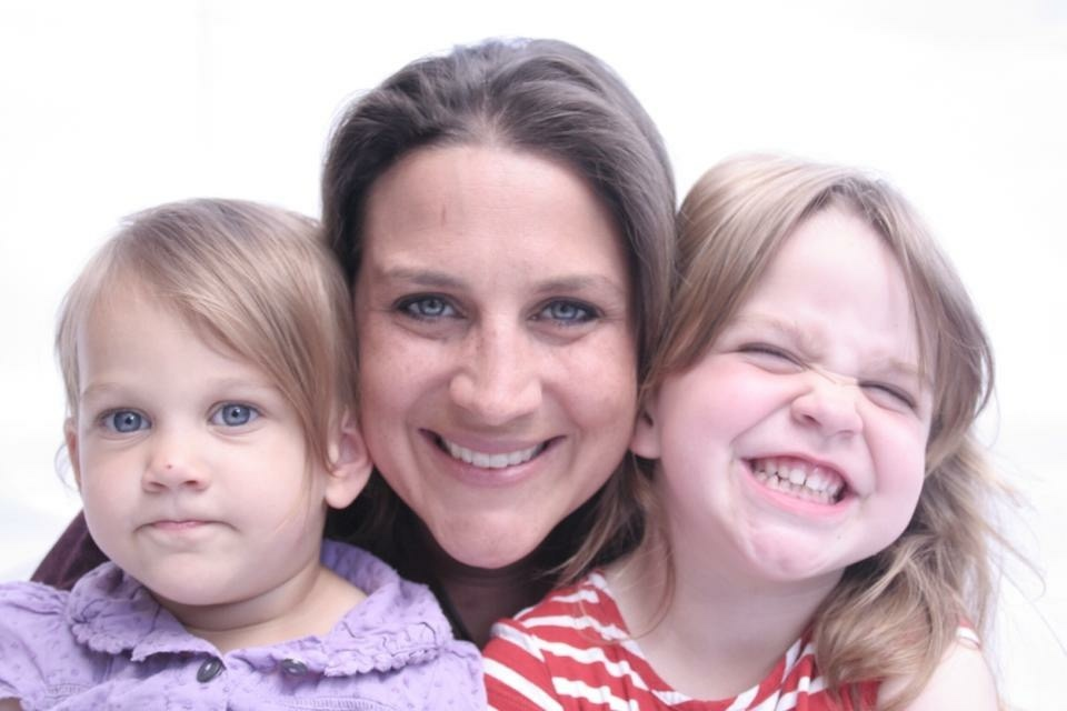 The Story of the Dummy Fairy's author Lisa Bonner and her girls