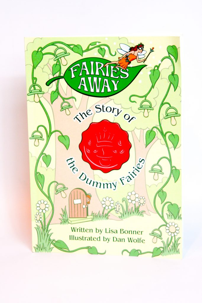 Children's book front cover of The Story of the Dummy Fairy