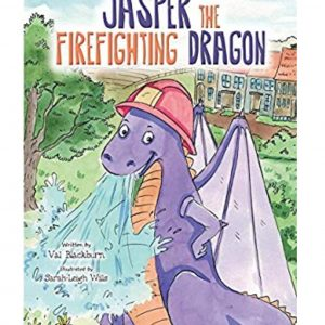 The front cover of the book Jasper the Firefighting Dragon