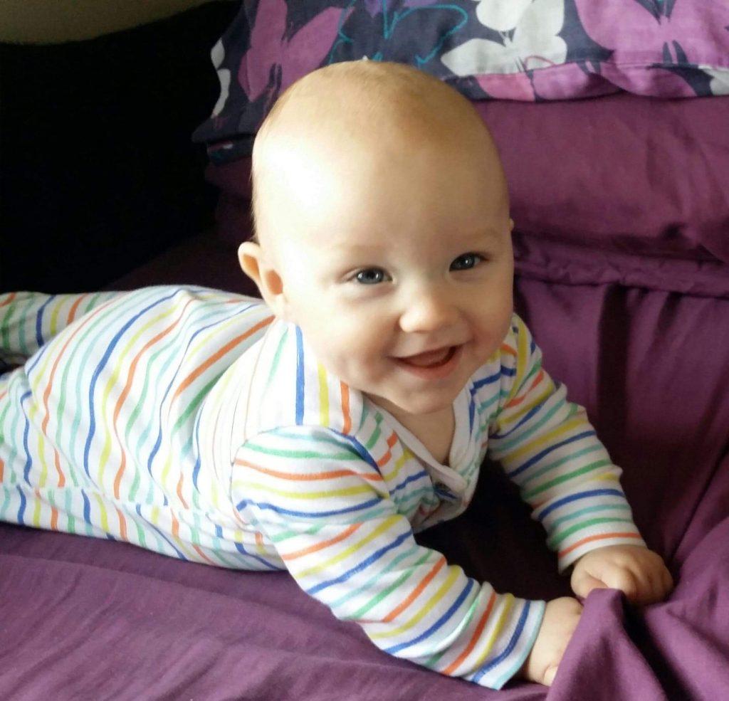 Premature baby Keagan Matthews