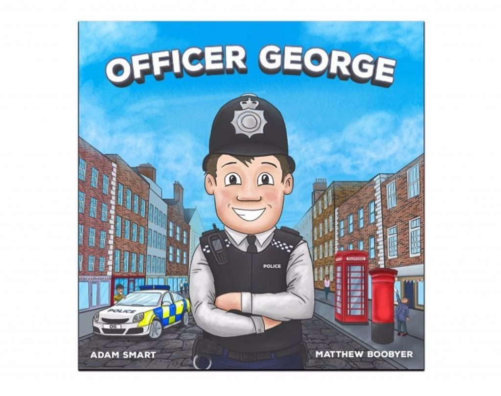 Children's book Officer George front cover