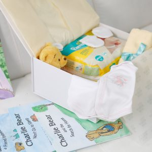 The premature baby girl's memory box hamper