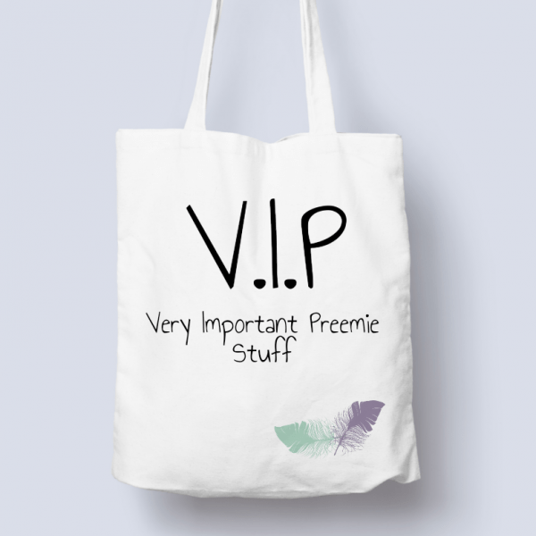 VIP Very Important Preemie bag