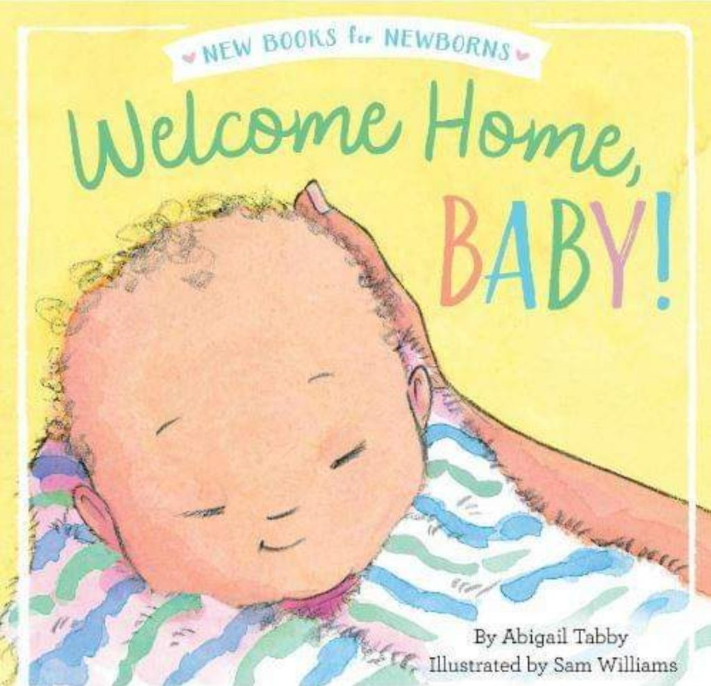 Children's book Welcome Home Baby front cover