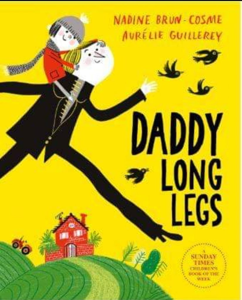 Children's book Daddy Long legs front cover