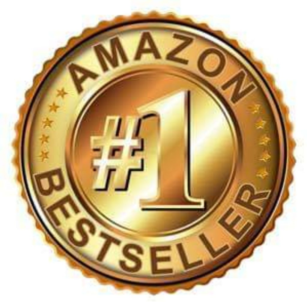 Amazon number 1 bestseller gold badge - book
