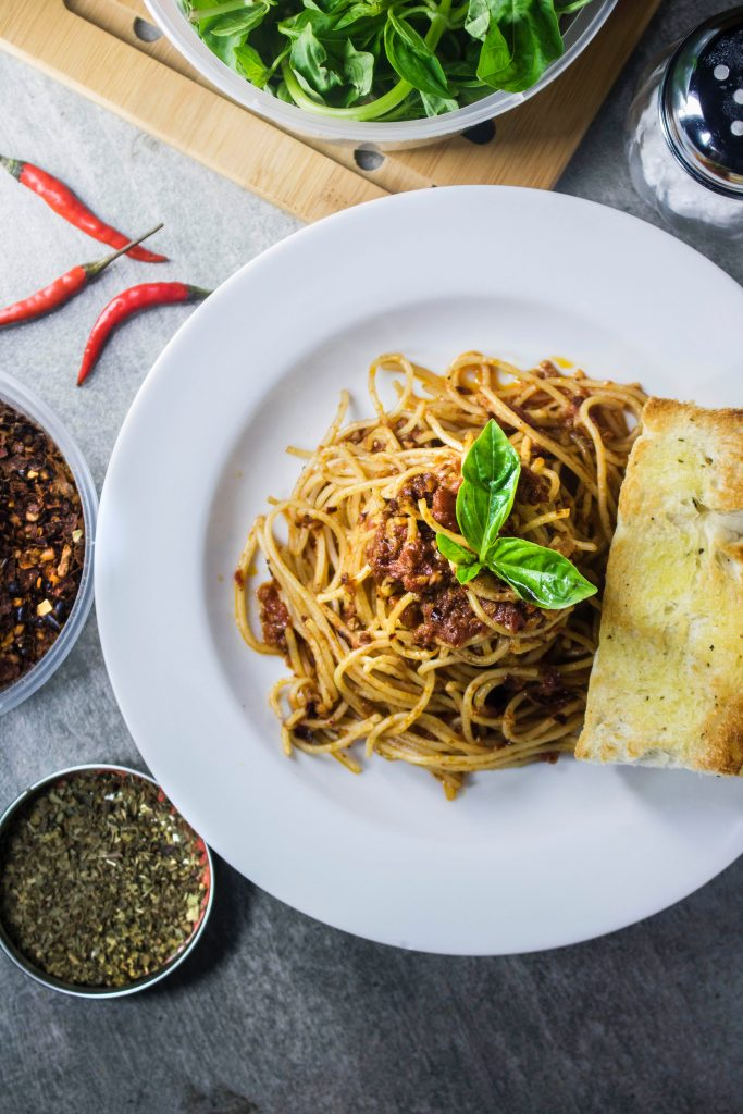 Spaghetti Bolognese - Photography credit: Eiliv Sonas Aceron