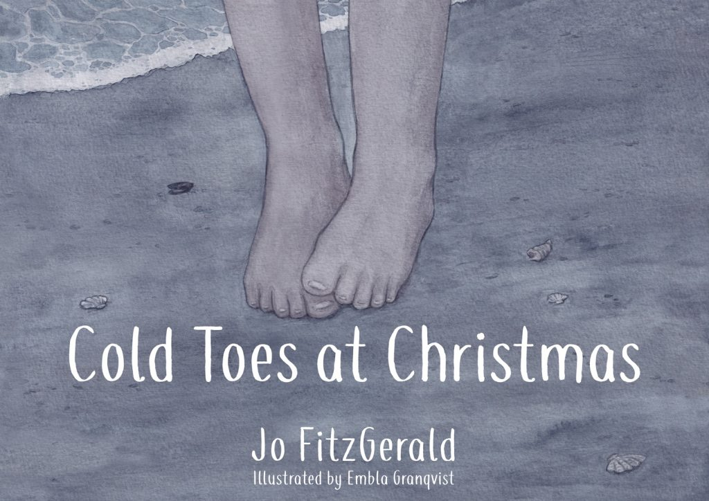 Children's book Cold Toes at Christmas front cover