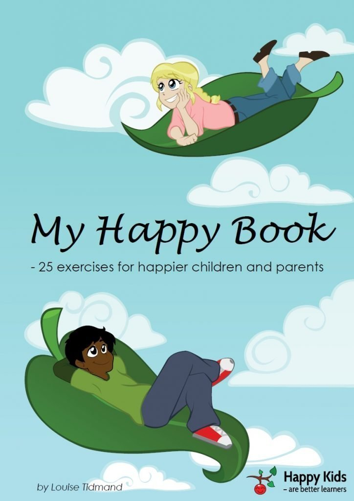 My Happy Book which contains 25 exercises for happier children and parents