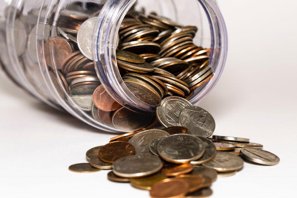 Money jar. Photography credit: Michael Longmire