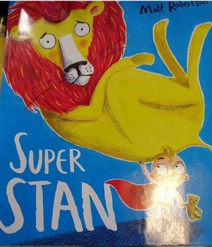 Children's book Super Stan by Matt Robertson