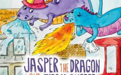 Jasper the Dragon and the Fiery Sneeze – May's book