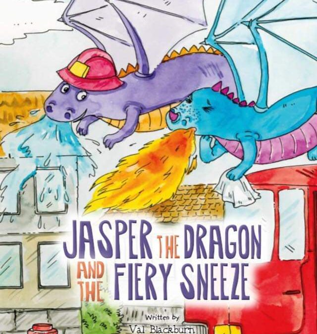 Jasper the Dragon and the Fiery sneeze by Val Blackburn