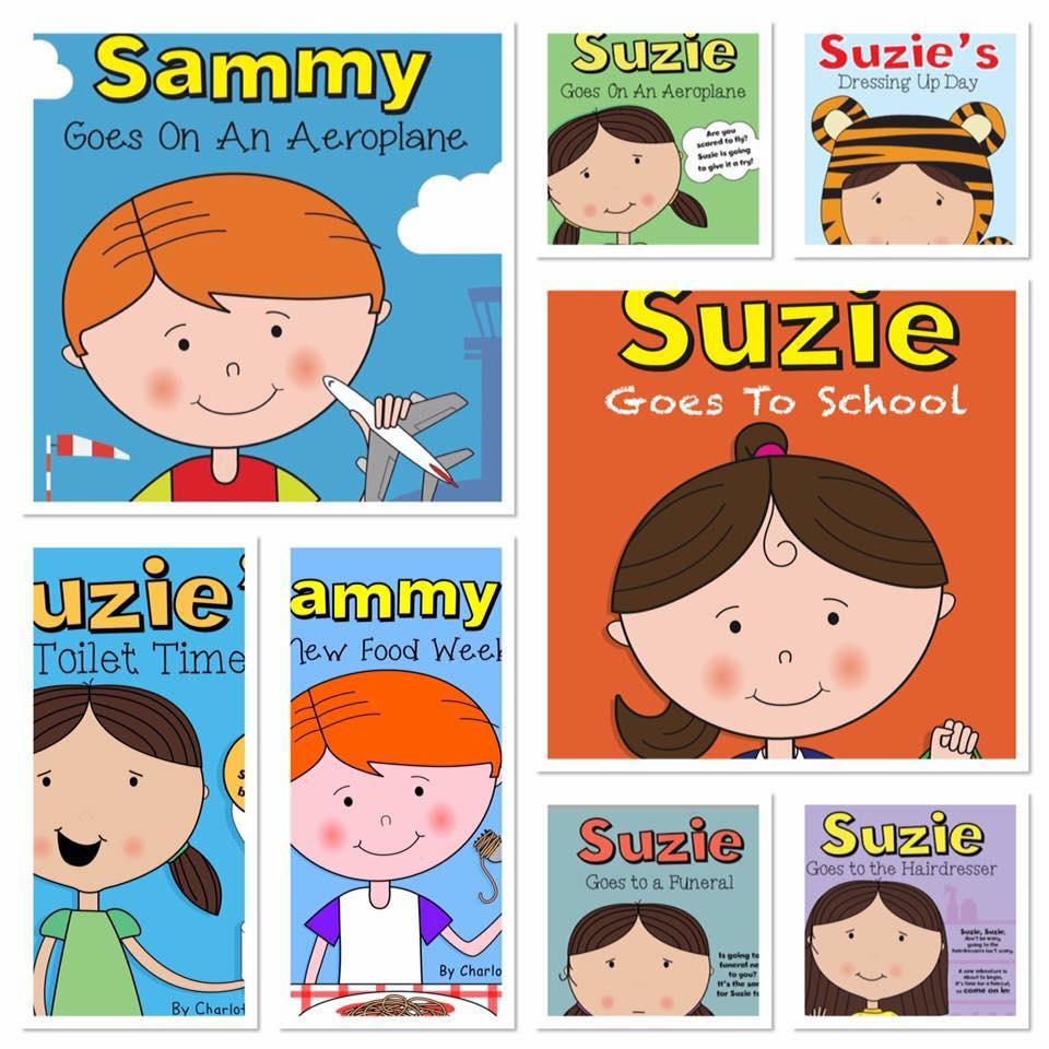The Suzie series of books written by Charlotte Olsen