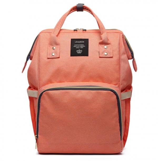 Nappy bag in orange