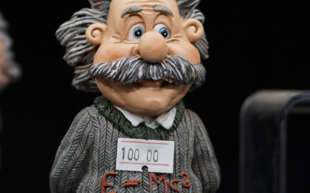 Albert Einstein figure. Photography credit: Ugur Peker