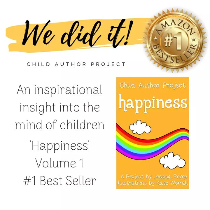 The Child Author Project - Amazon number 1 best seller