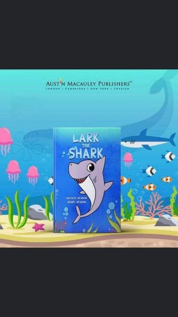 Front cover of Lark The Shark by Natalie Newman